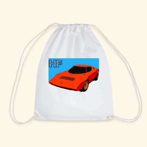 rally car - Drawstring Bag