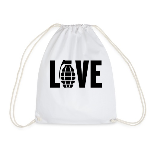 LOVE Grenade - Drawstring Bag