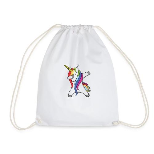 Meisjes Unicorn Dab Spullen - Gymtas