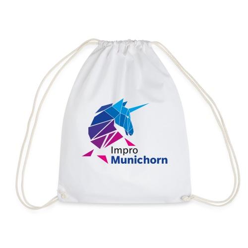 ImproMunichorn Logo farbig - Turnbeutel
