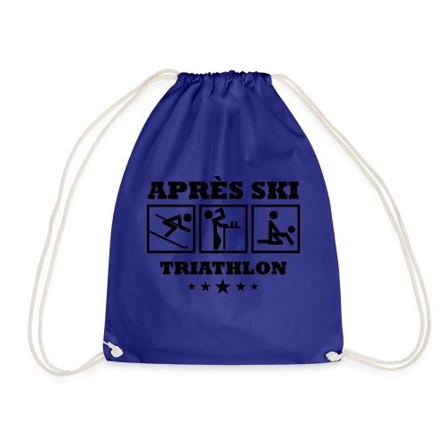 Apres Ski Triathlon | Apreski-Shirts gestalten - Turnbeutel