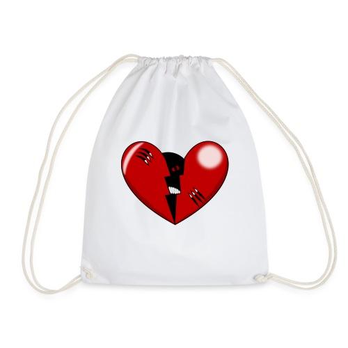 HEART1 - Drawstring Bag
