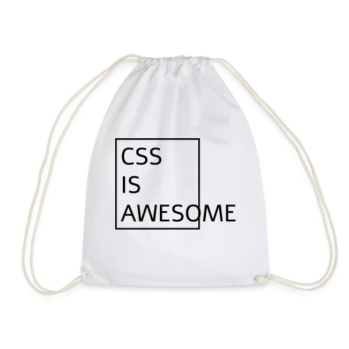 css is awesome - Sac de sport léger