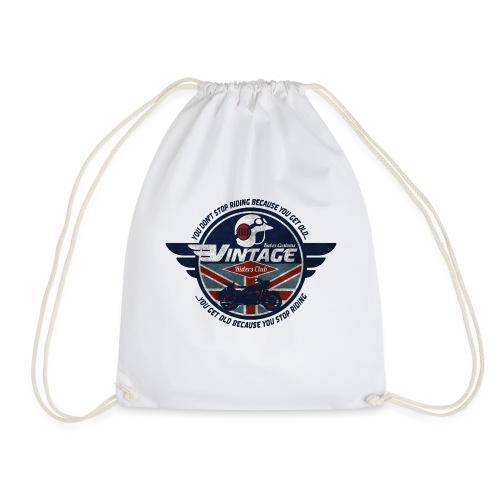 Kabes Vintage Riders Club - Drawstring Bag
