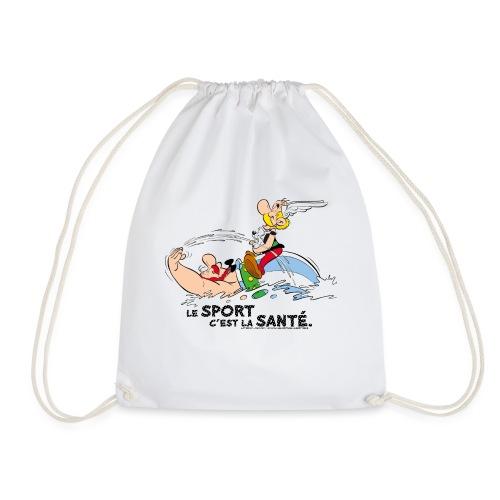 Astérix et Obélix se baignent avec Idéfix - Sac de sport léger
