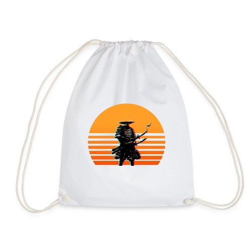 Samurai Sunset yellow - Turnbeutel