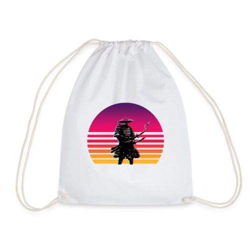Samurai Untergang Outrun - Turnbeutel