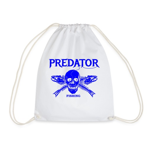Predator fishing blue - Turnbeutel