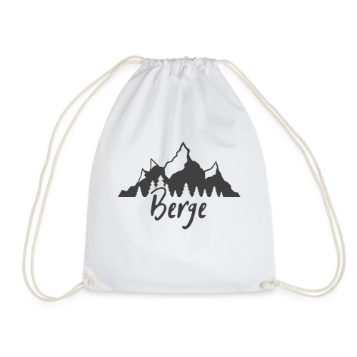 Berge klassisch - Turnbeutel