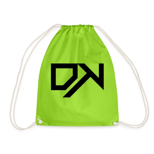 DewKee Logo Cap Black - Drawstring Bag