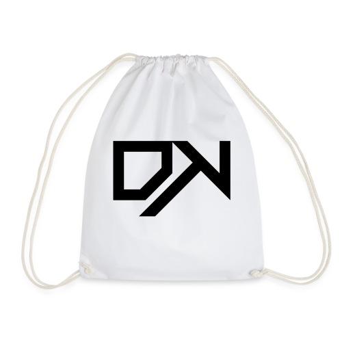 DewKee Logo Samung Galaxy S4 Case Black - Drawstring Bag