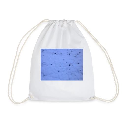 Deksel med vinterbilde - Gymbag