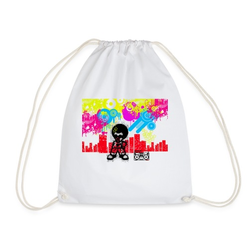 Magliette personalizzate bambini Dancefloor - Sacca sportiva
