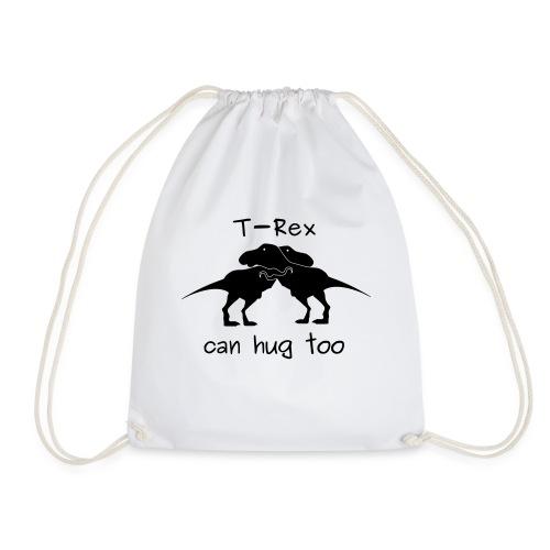 abbraccio tirannosauri - Sacca sportiva