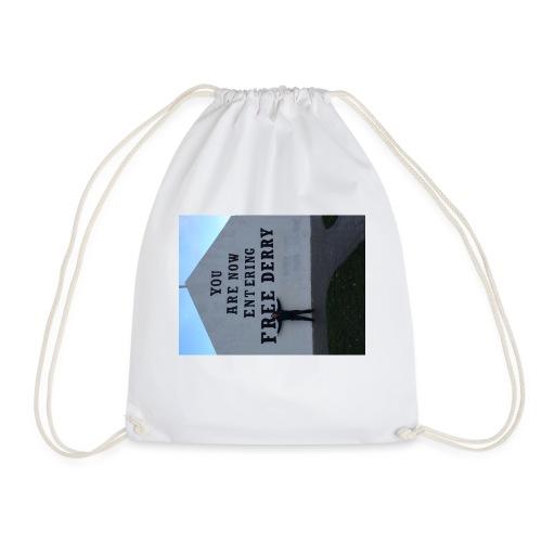 free derry - Drawstring Bag