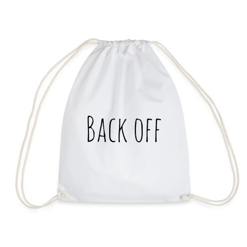back off - Gymtas