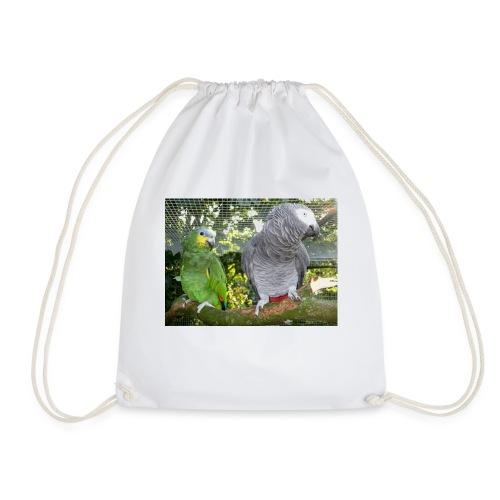 Amazone og grå - Sportstaske