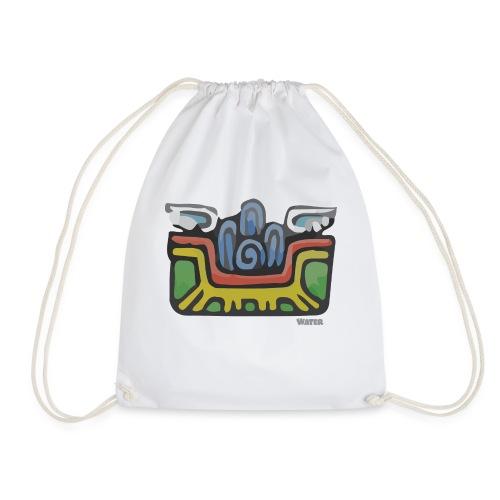 Aztec Water - Drawstring Bag