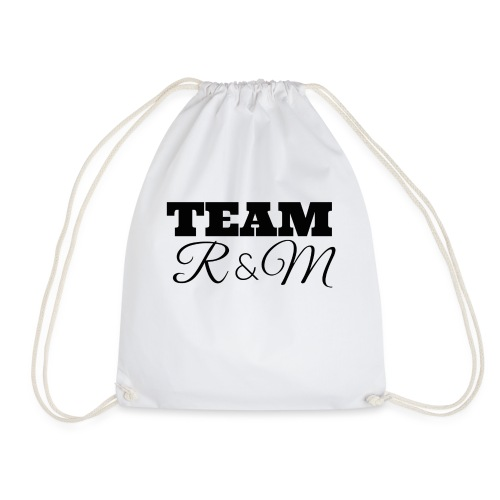 Snapback team r&m - Drawstring Bag