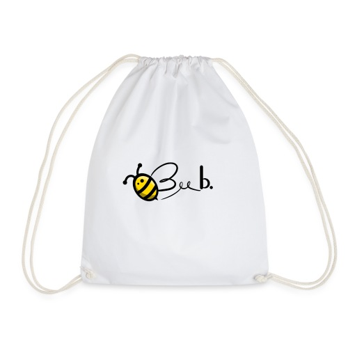 Bee b. Logo - Drawstring Bag