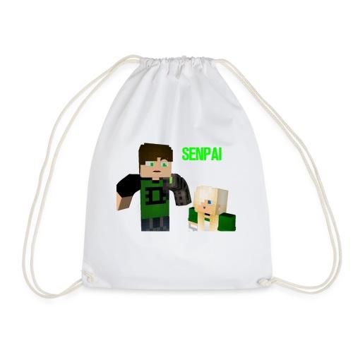 Senpai marcus - Drawstring Bag
