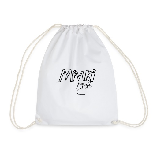 Mimki papaji #2 official logo - Drawstring Bag