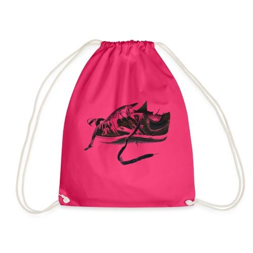 shoe (Saw) - Drawstring Bag