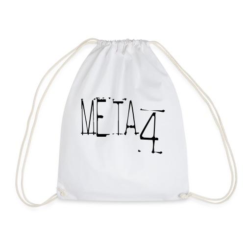 Meta4 Font Vector T-shirts - Drawstring Bag