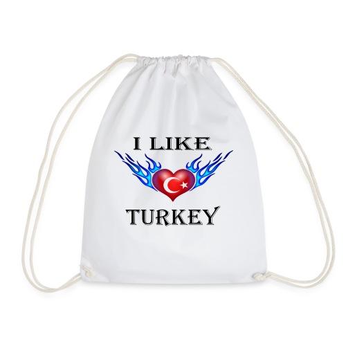 I Like Turkey - Turnbeutel