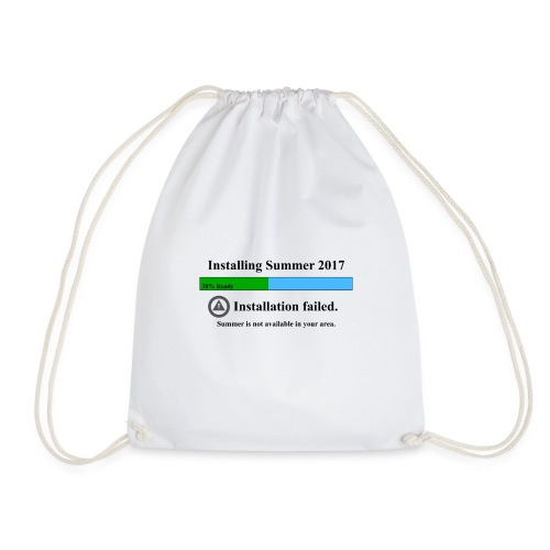 No Summer - Drawstring Bag