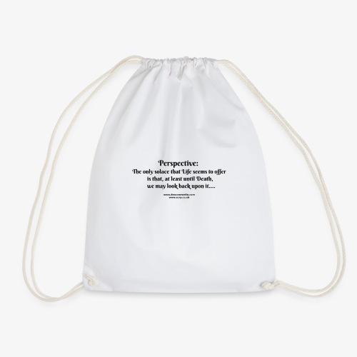 perspective T - Drawstring Bag