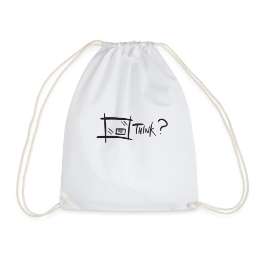 Think Outside The Box - Drawstring Bag