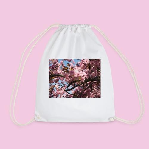 Japanische Kirschblütten - Turnbeutel