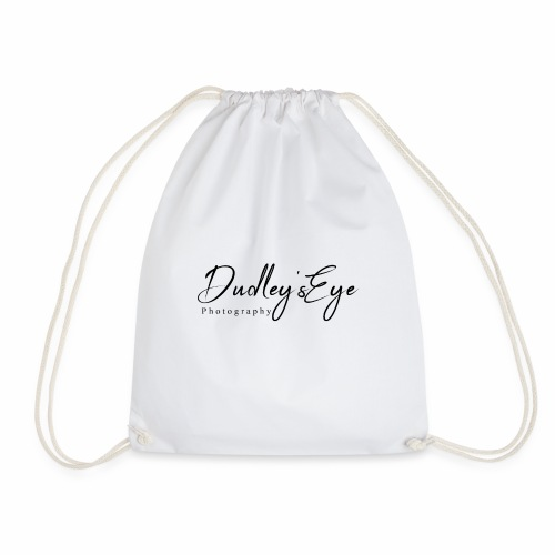 DudleysEye watermark 2018 - Drawstring Bag