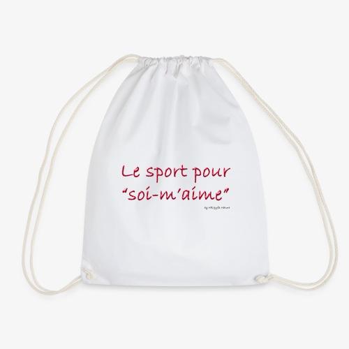 Le sport pour soi-m aime rouge by NR'gyfit N. - Sac de sport léger
