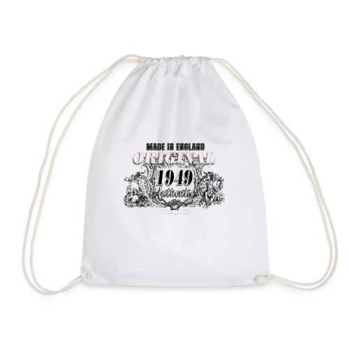 MADE IN ENGLAND - Drawstring Bag