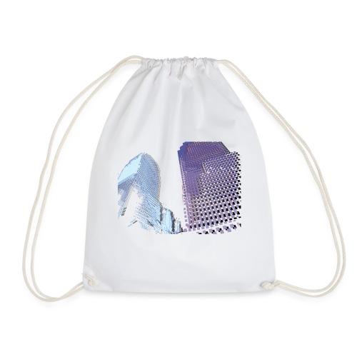 Landscape blu - Drawstring Bag