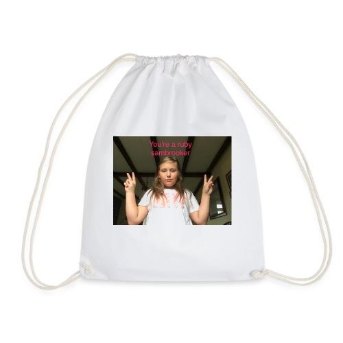 Your a ruby sambrooker - Drawstring Bag