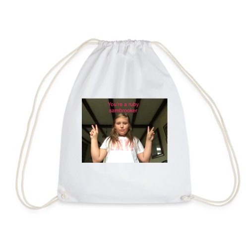 Your a ruby sambrooker - Drawstring Bag