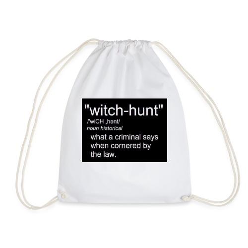 Witch Hunt - women's Tshirt - Drawstring Bag