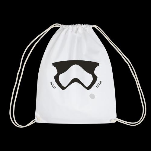 Modern Stormtrooper Face - Drawstring Bag
