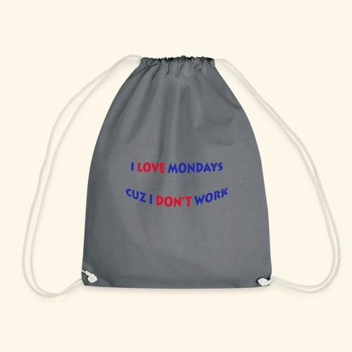 Love Mondays - Turnbeutel