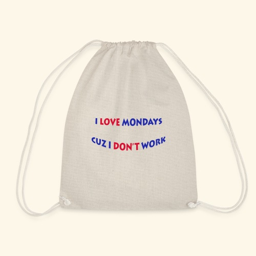 Love Mondays - Turnbeutel
