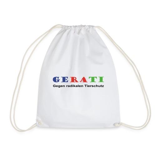 GERATI Logo Farbe - Turnbeutel