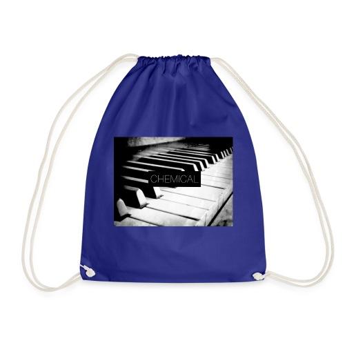 Piano black&White - Sacca sportiva