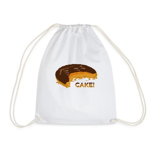 It's a cake! - Drawstring Bag