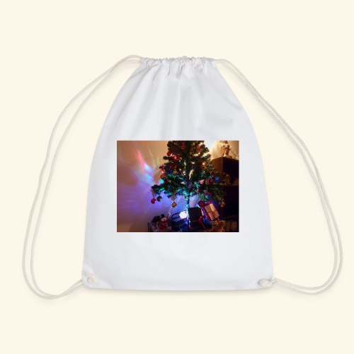 Weihnachten ist schön mit dem Party-Weihnachtsbaum - Turnbeutel