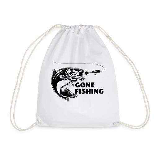 Gone fishing - Drawstring Bag