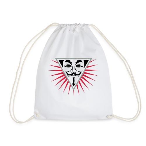 Anonymous NWO logo 3c - Sac de sport léger