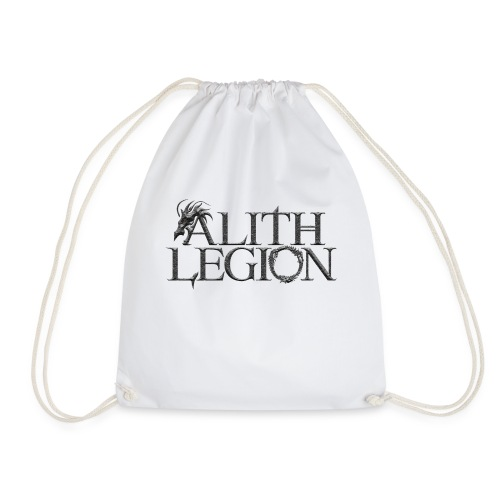 Alith Legion Dragon Logo - Drawstring Bag